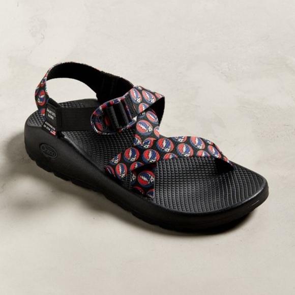 ea4c81f75fb3  130 NEW IN BOX CHACO Z1 Grateful Dead Sandals